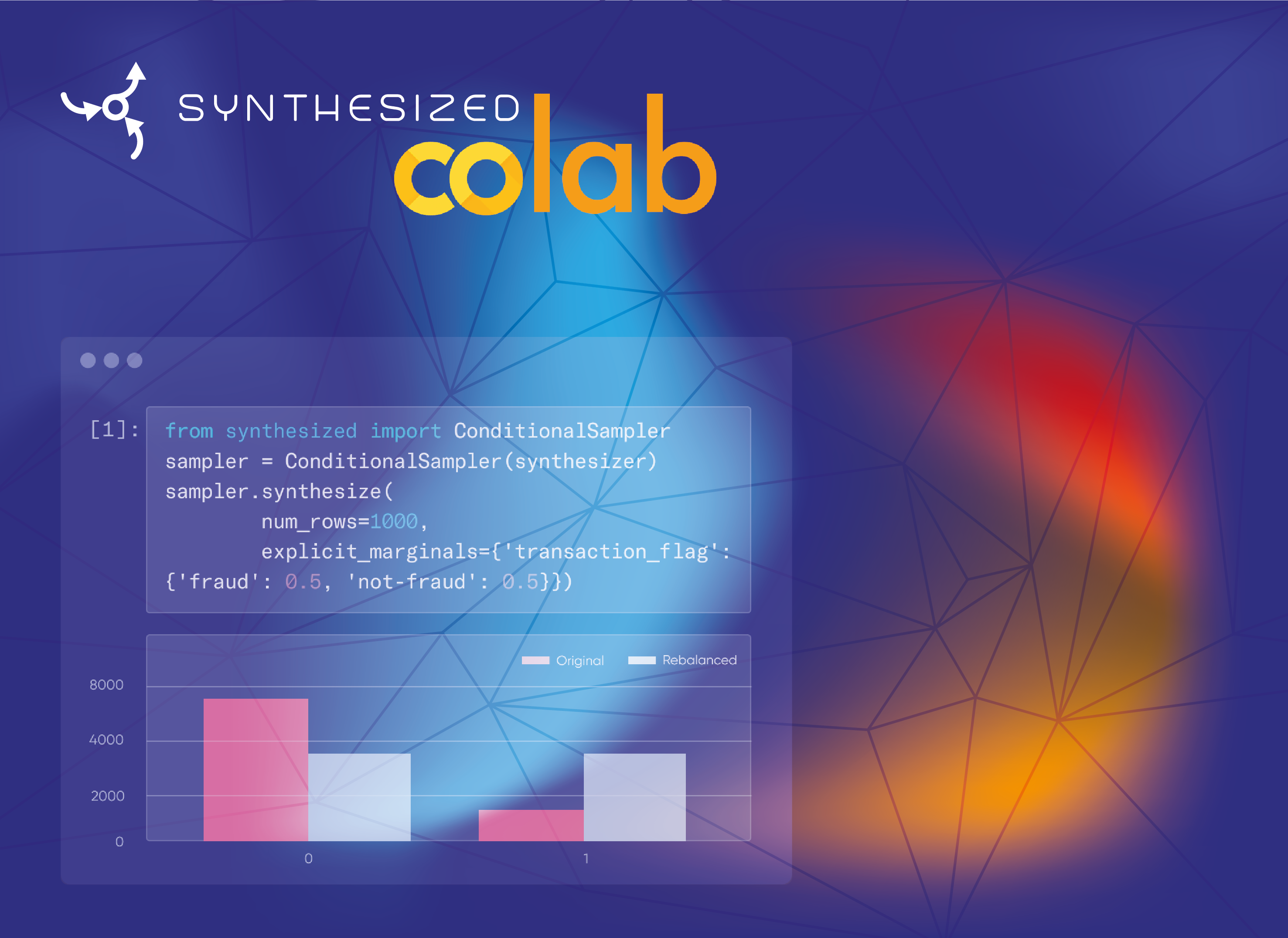 Announcing Synthesized SDK in Google Colab