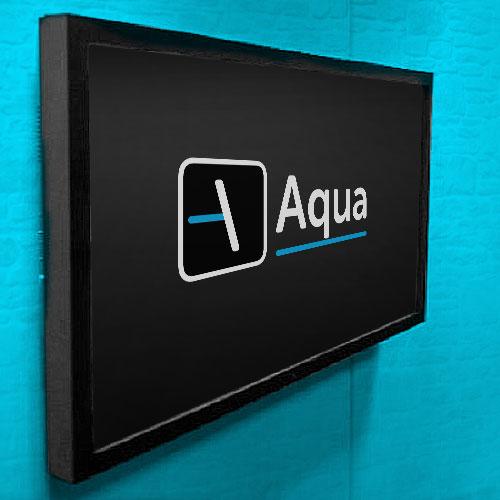 Tela touchscreen interativa para móvel ou parede