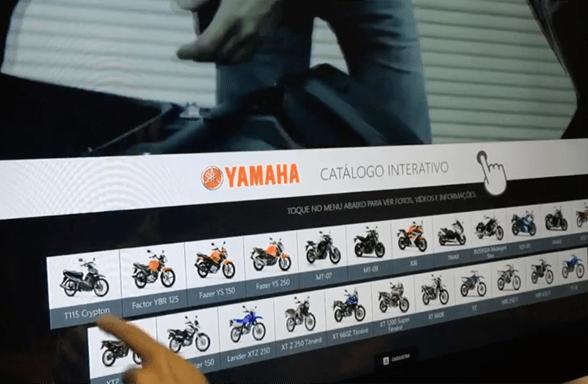 Showcase Veículos Yammaha