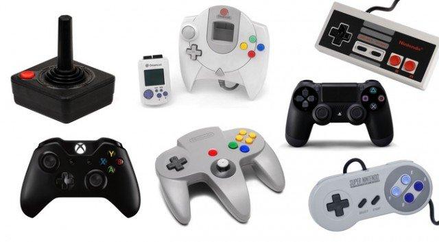 Evolução dos joysticks