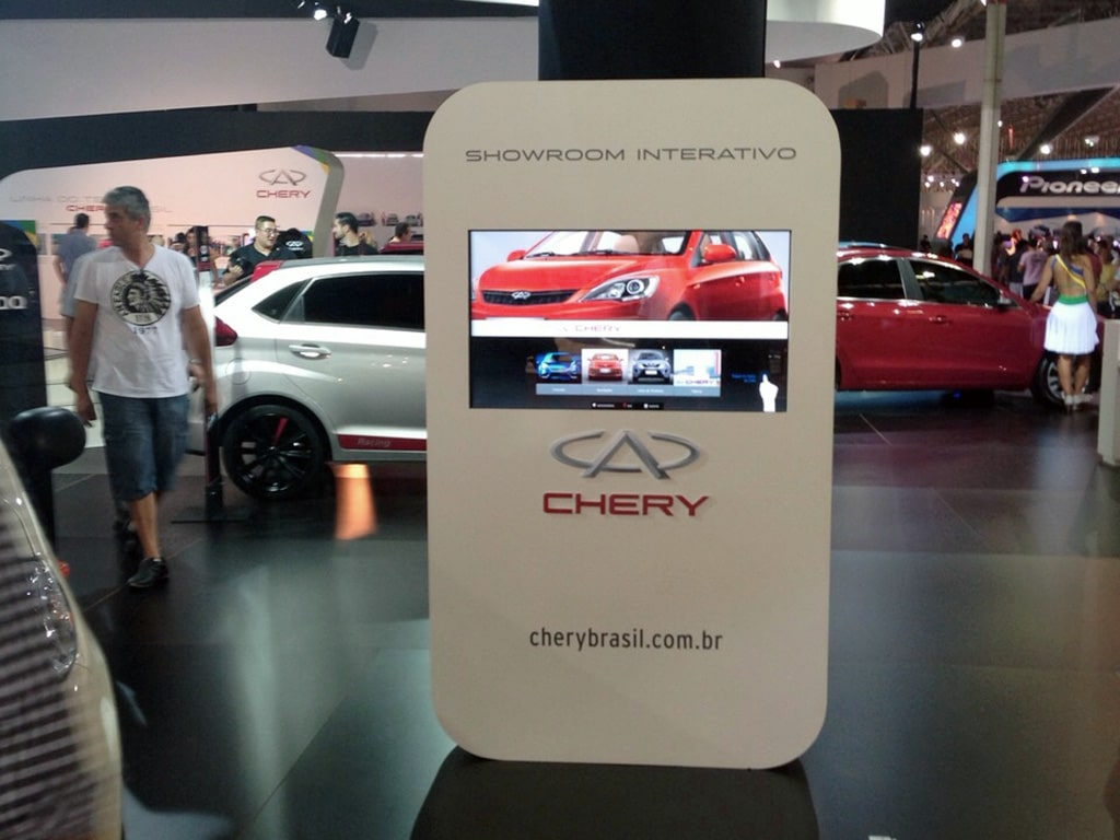 Chery no Salão do Automóvel