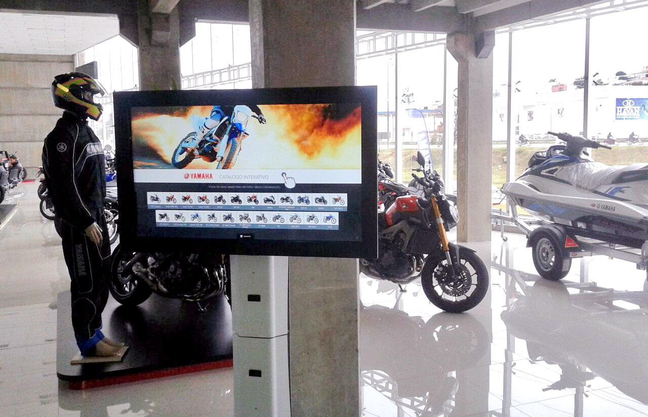 Catálogo interativo Yamaha