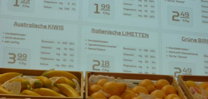 Tela supermercado do futuro