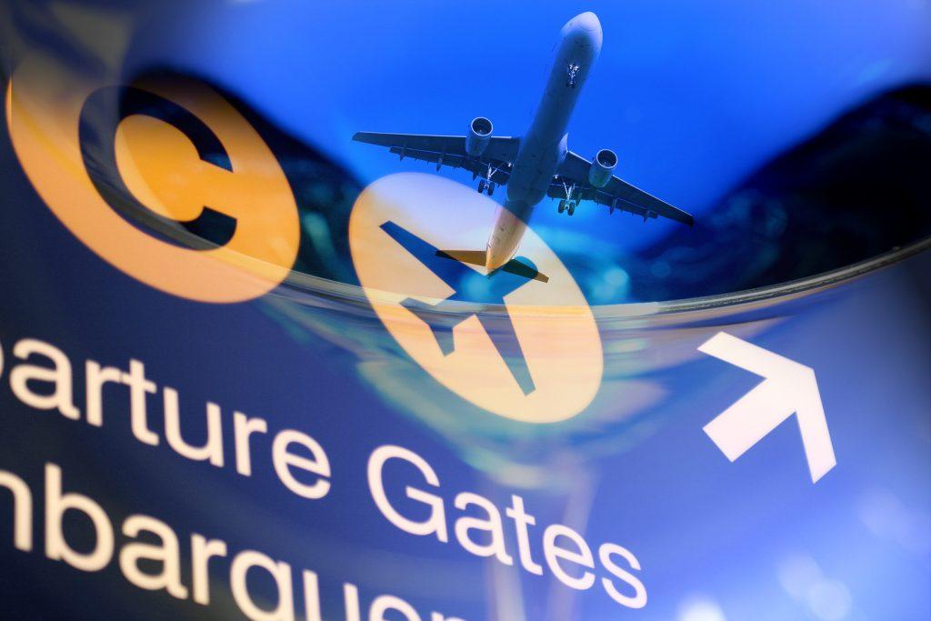 Aeroporto comunicação