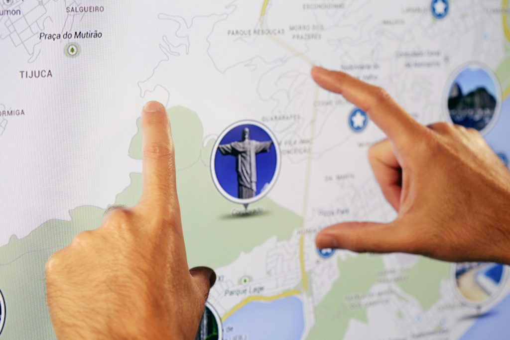 Mapa interativo do Rio de Janeiro