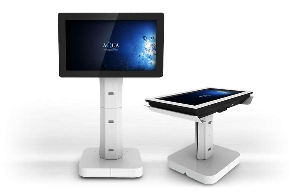 Tela touchscreen