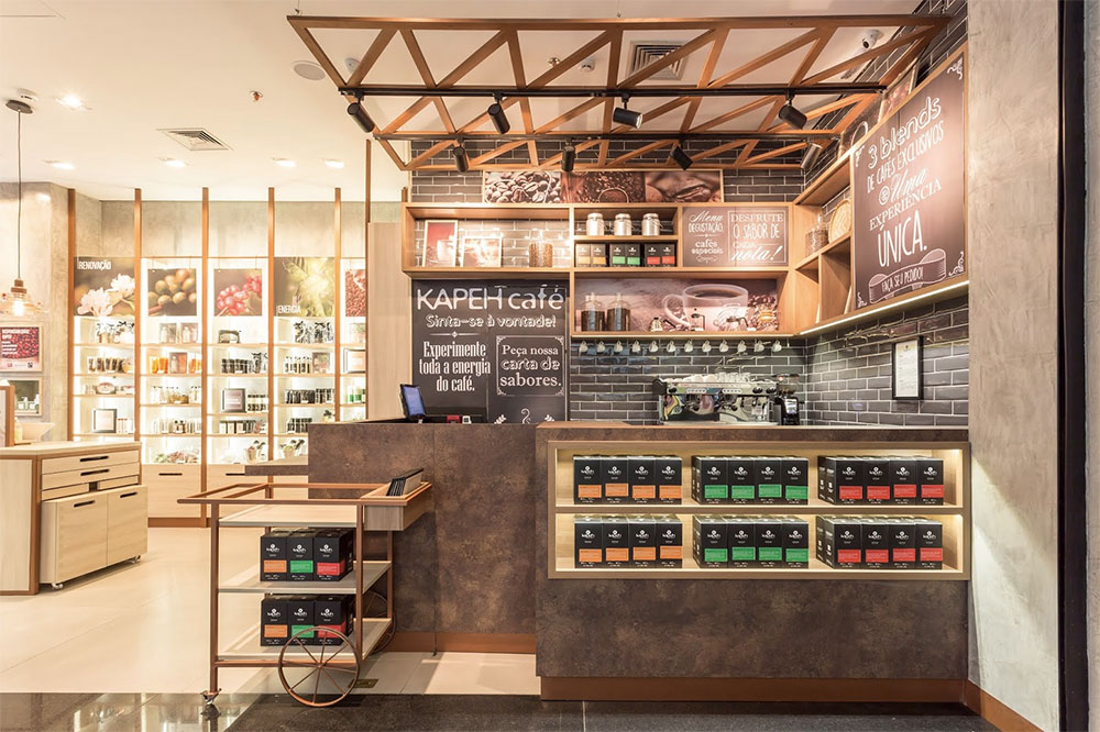 Kapeh Café - Loja conceito