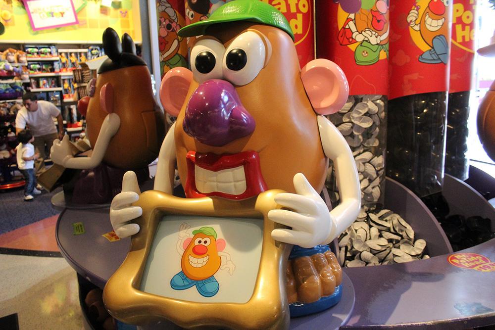 Senhor cabeça de batata, um dos personagens de Toy Story