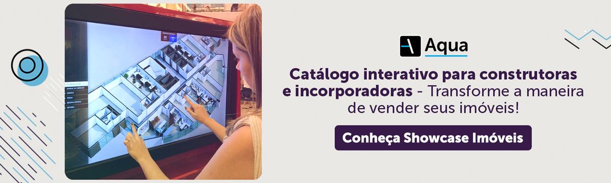 Catálogo interativo - showcase no mercado imobiliário