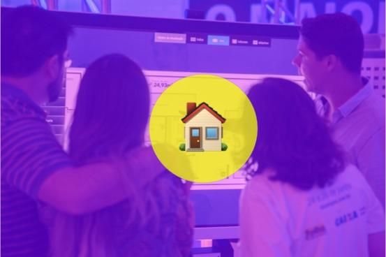 Salão do Imóvel de Campos com interatividade Aqua