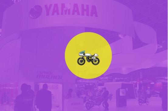 Interatividade foi diferencial da Yamaha no Salão Duas Rodas