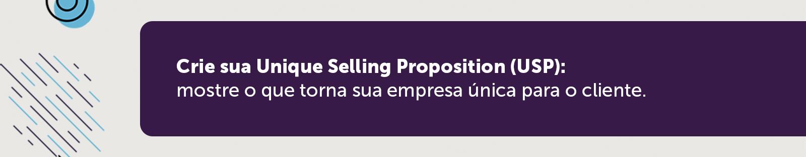 Unique Sellng Proposition