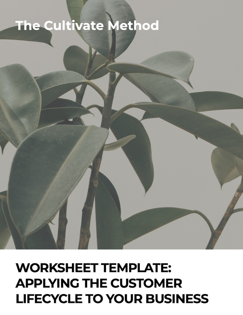Cover image for Worksheet Template: Applying the customer lifecycle to your business
