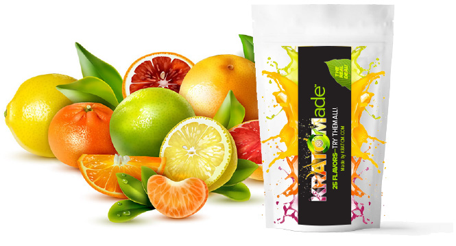 Kratomade Instant Juice Flavored Kratom Extract pouches - Brand new from Kratom.com