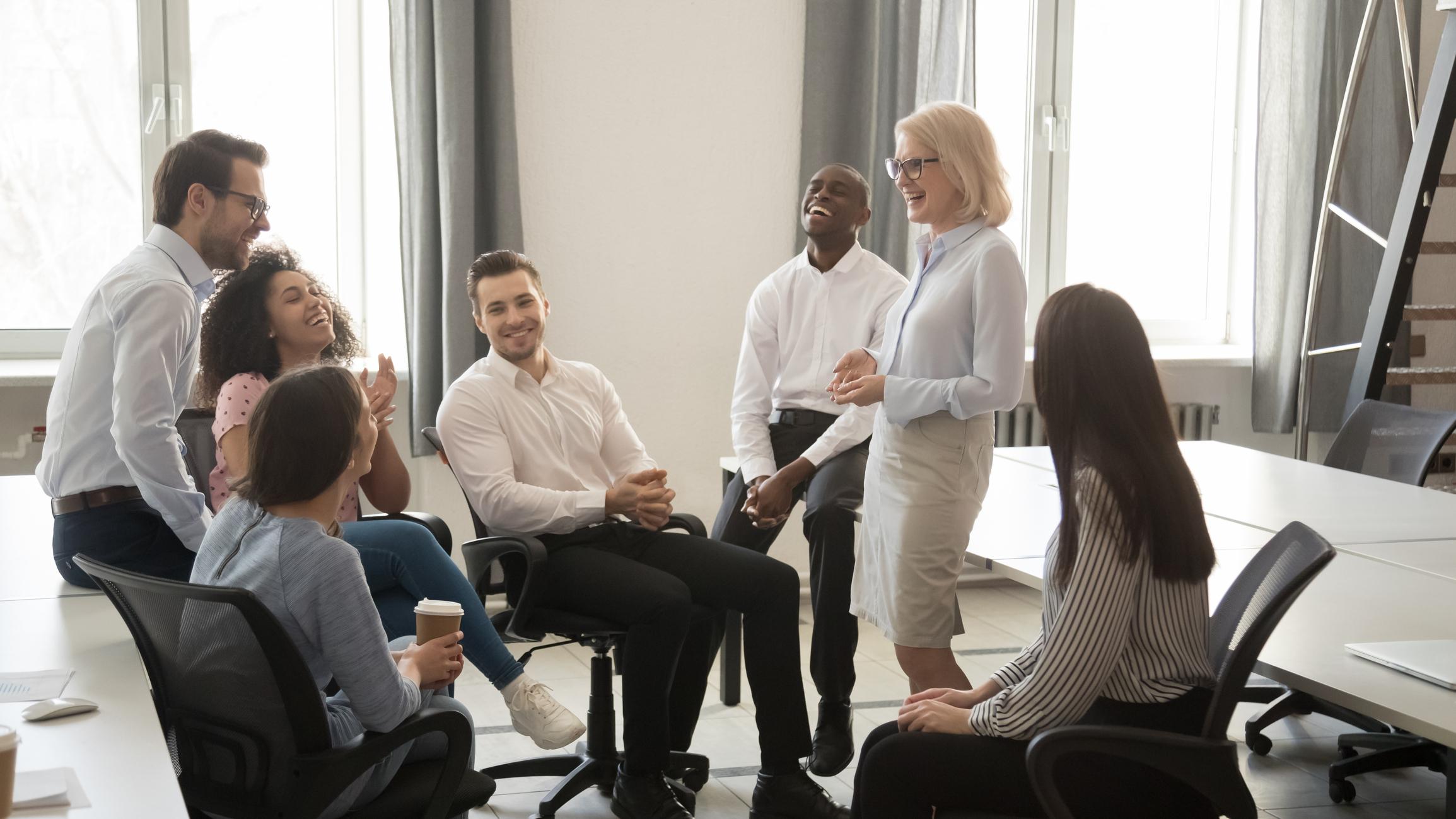 Quiver FInancial executives meeting image