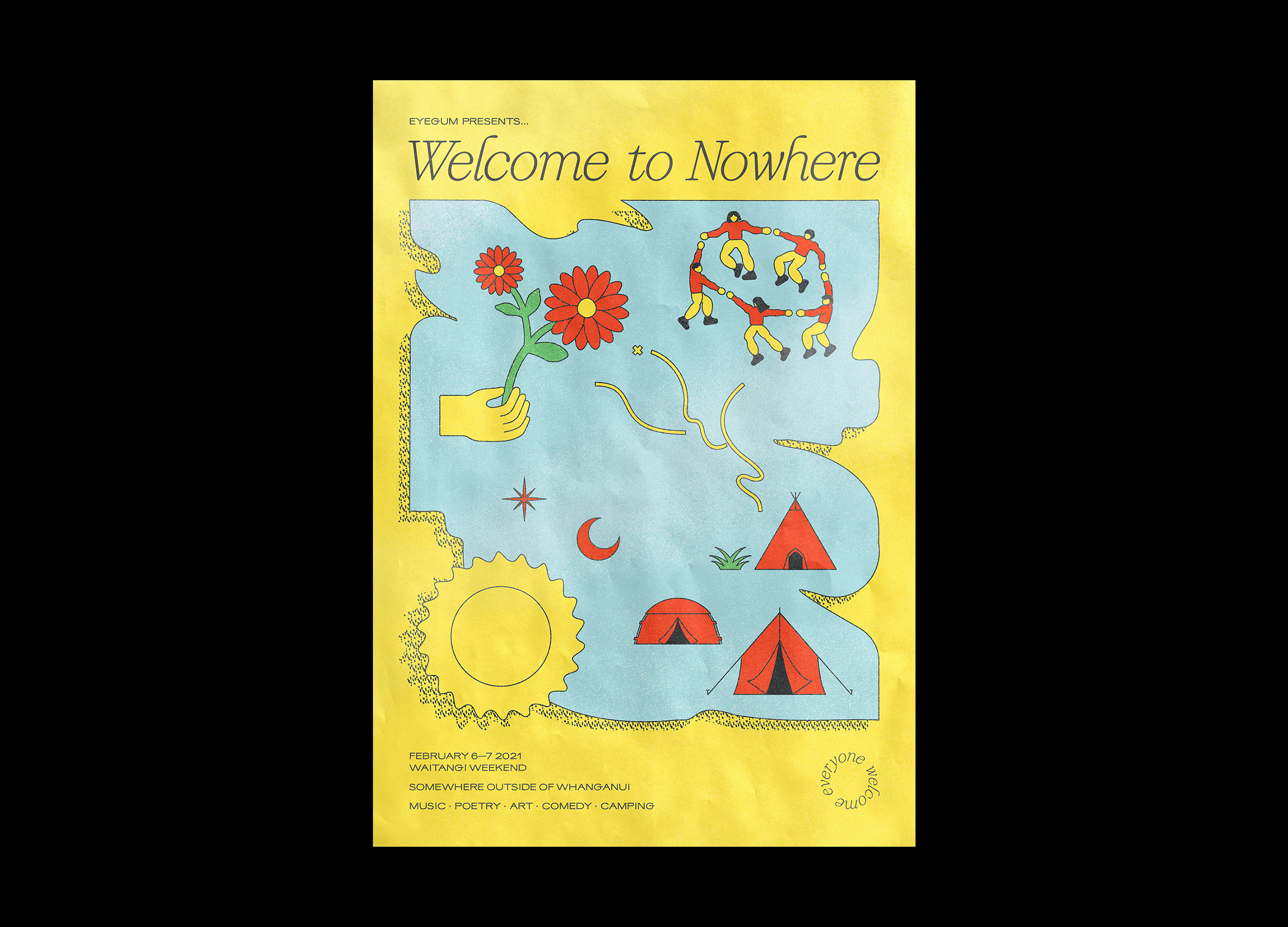Welcome to Nowhere 2021 Poster