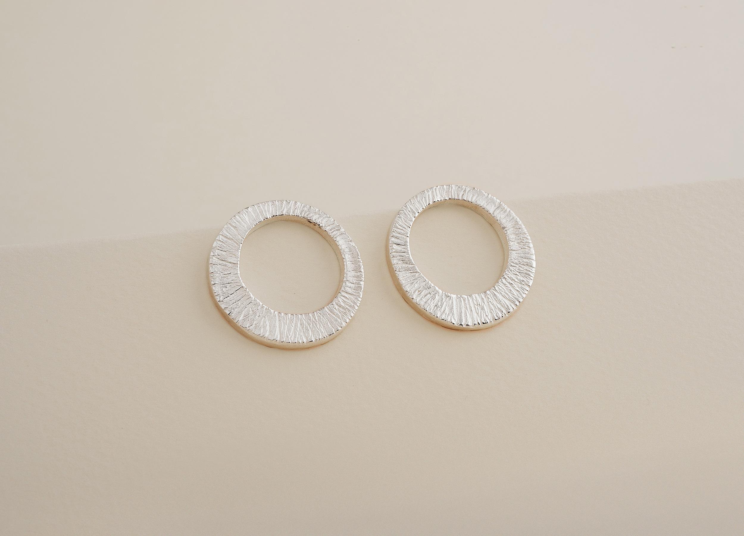 1418 Sterling Silver Stud Earrings