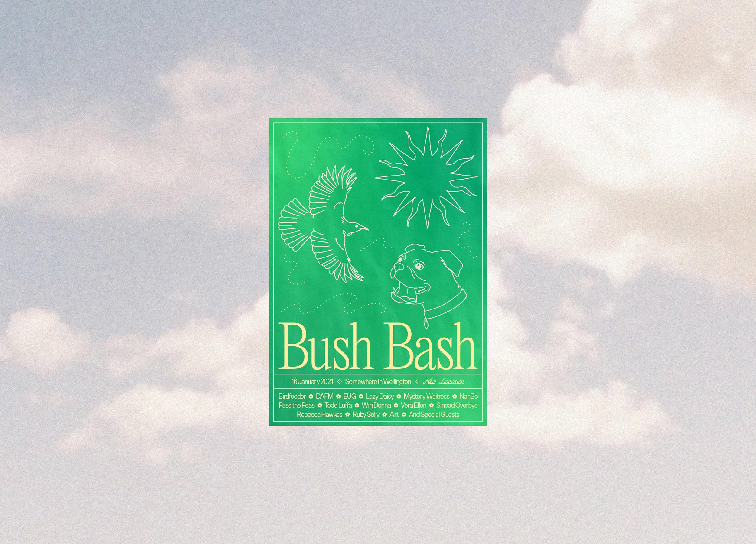 Bush Bash 2021 Poster Design