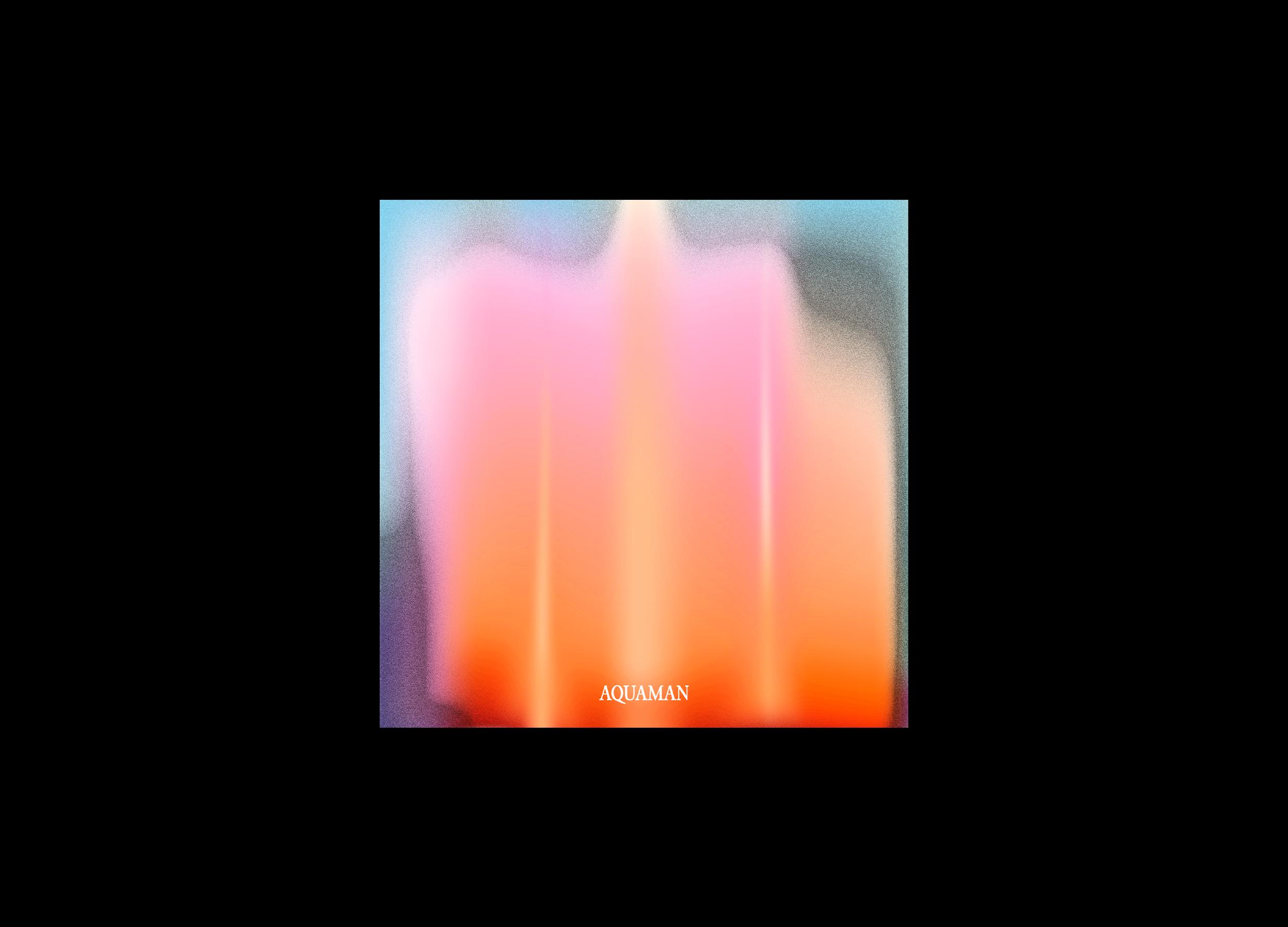 Aquaman Album Cover Design