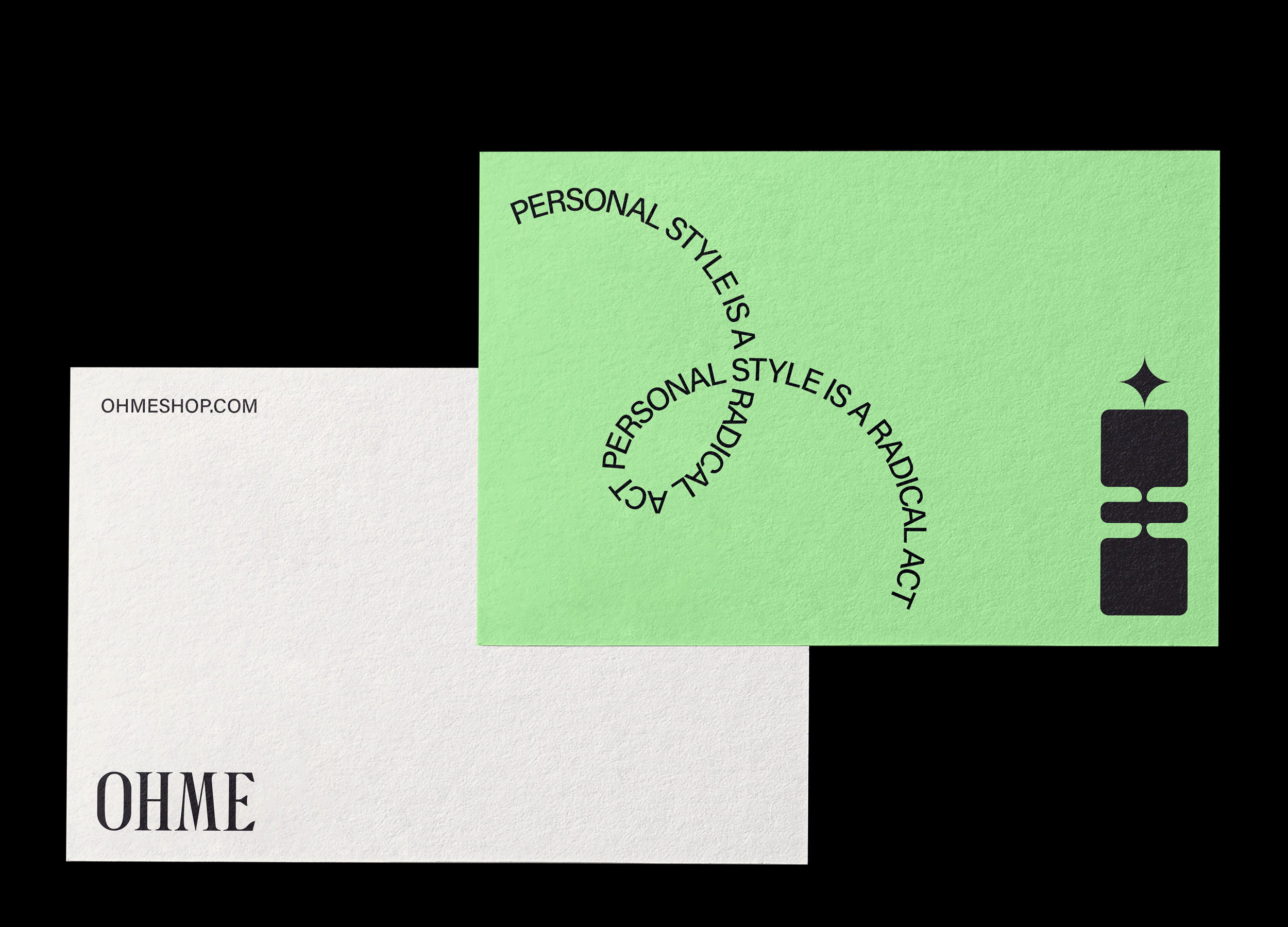 OHME Postcard Design