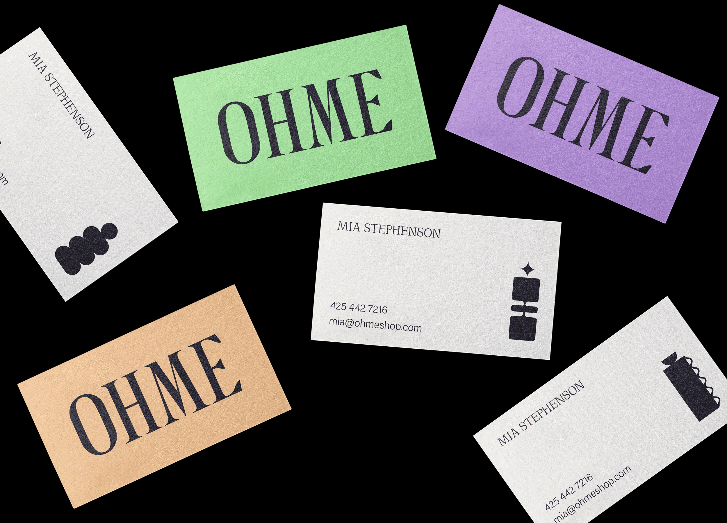 OHME Business Cards