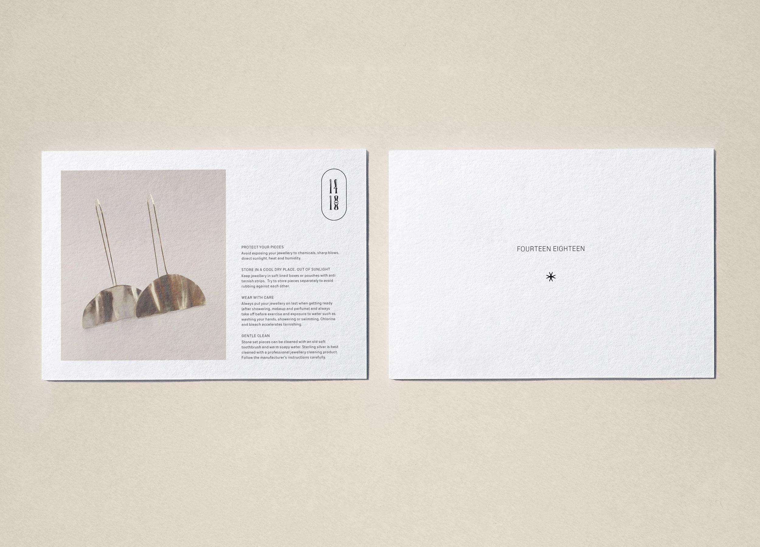 1418 Info Card Design