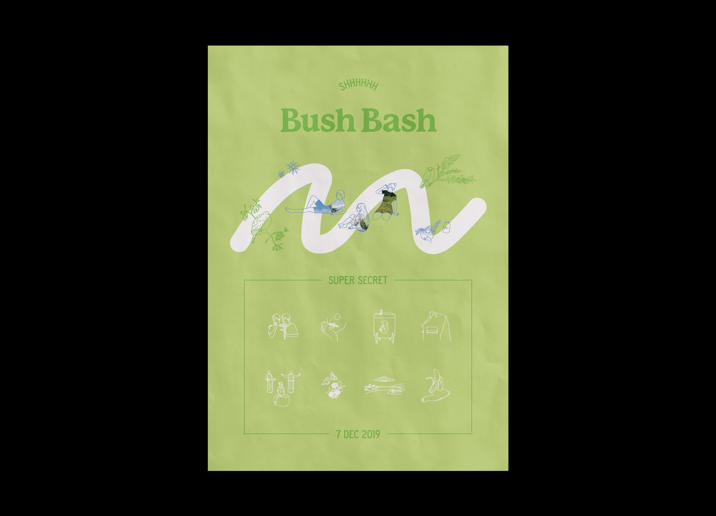 Bush Bash 2019 Poster