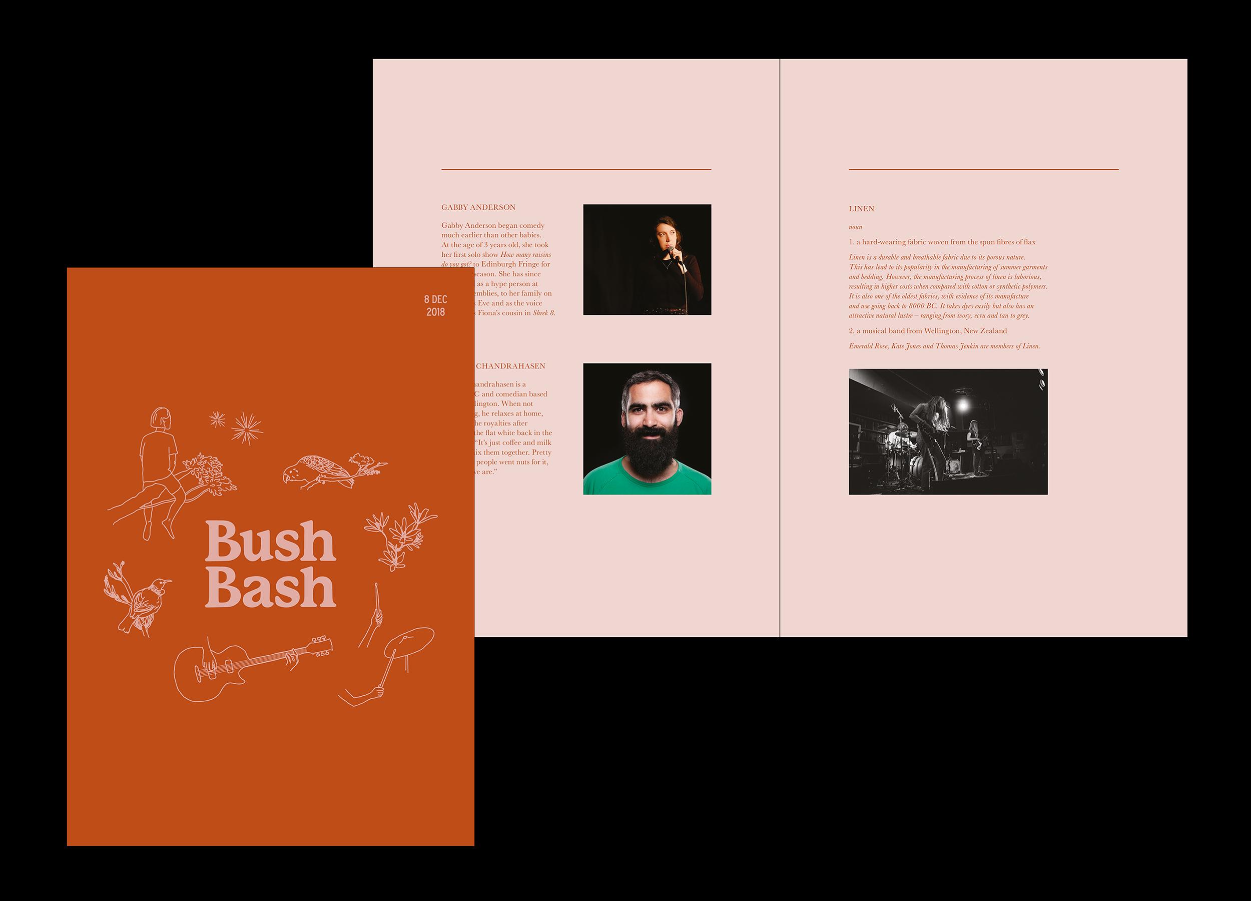 Bush Bash 2018 Booklet