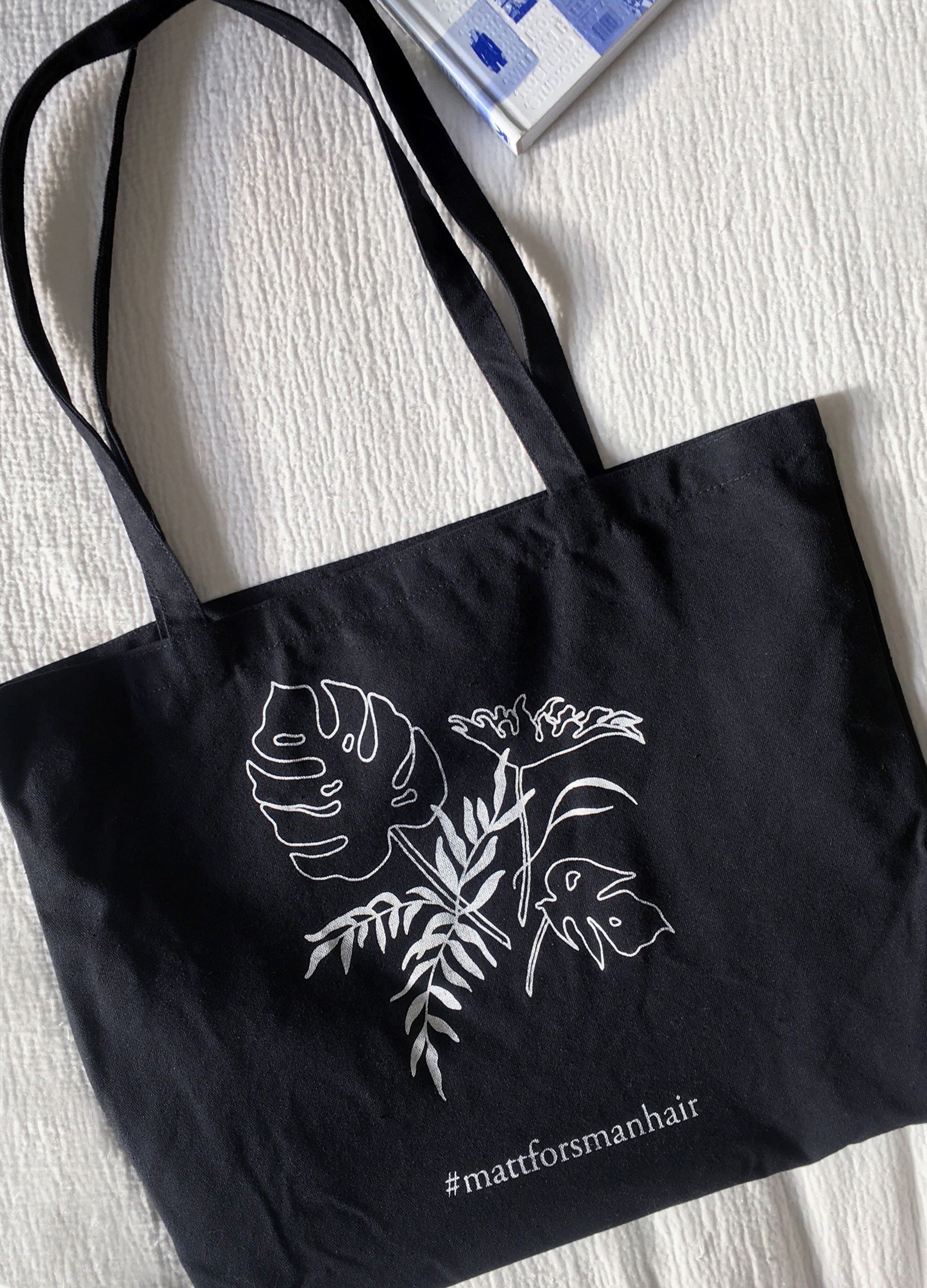 Illustration for Matt Forsman Hair on tote bag