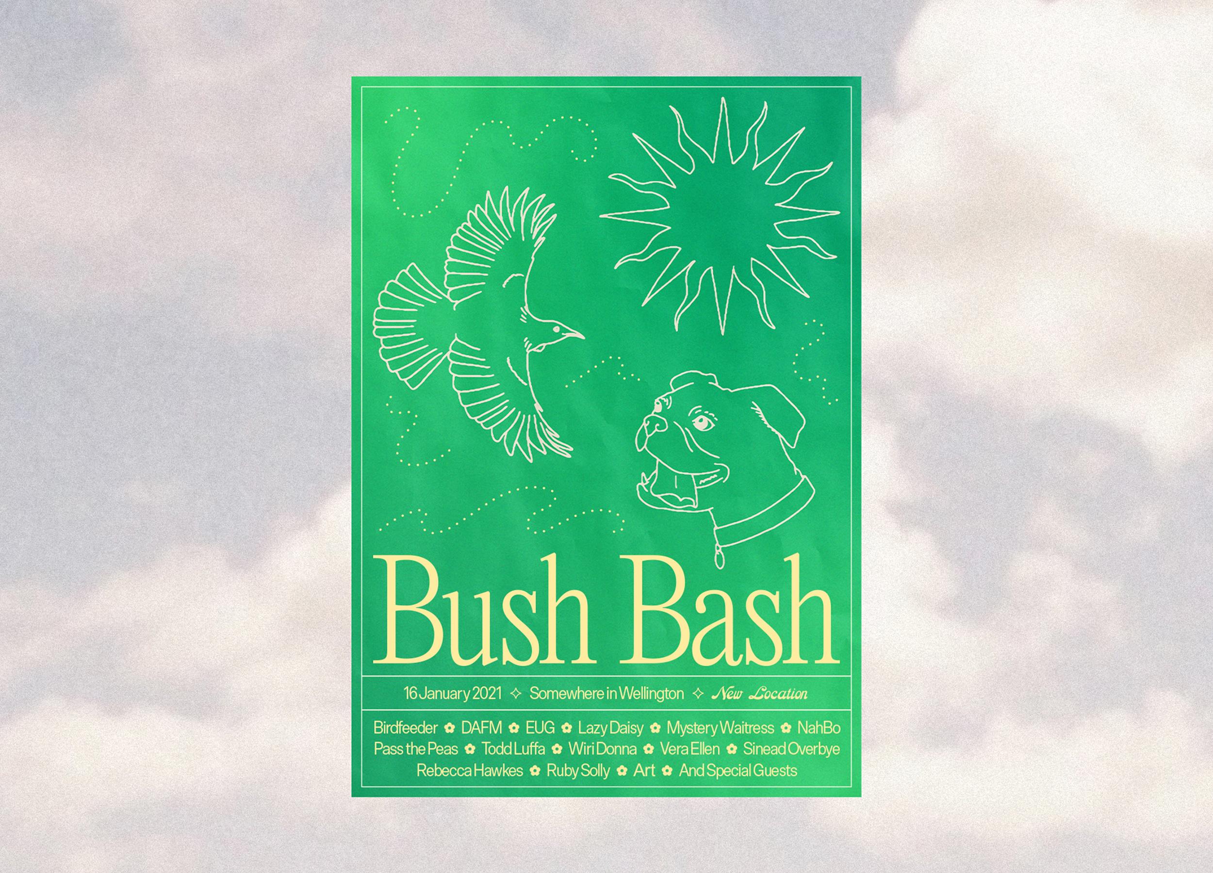 Bush Bash 2021 Poster