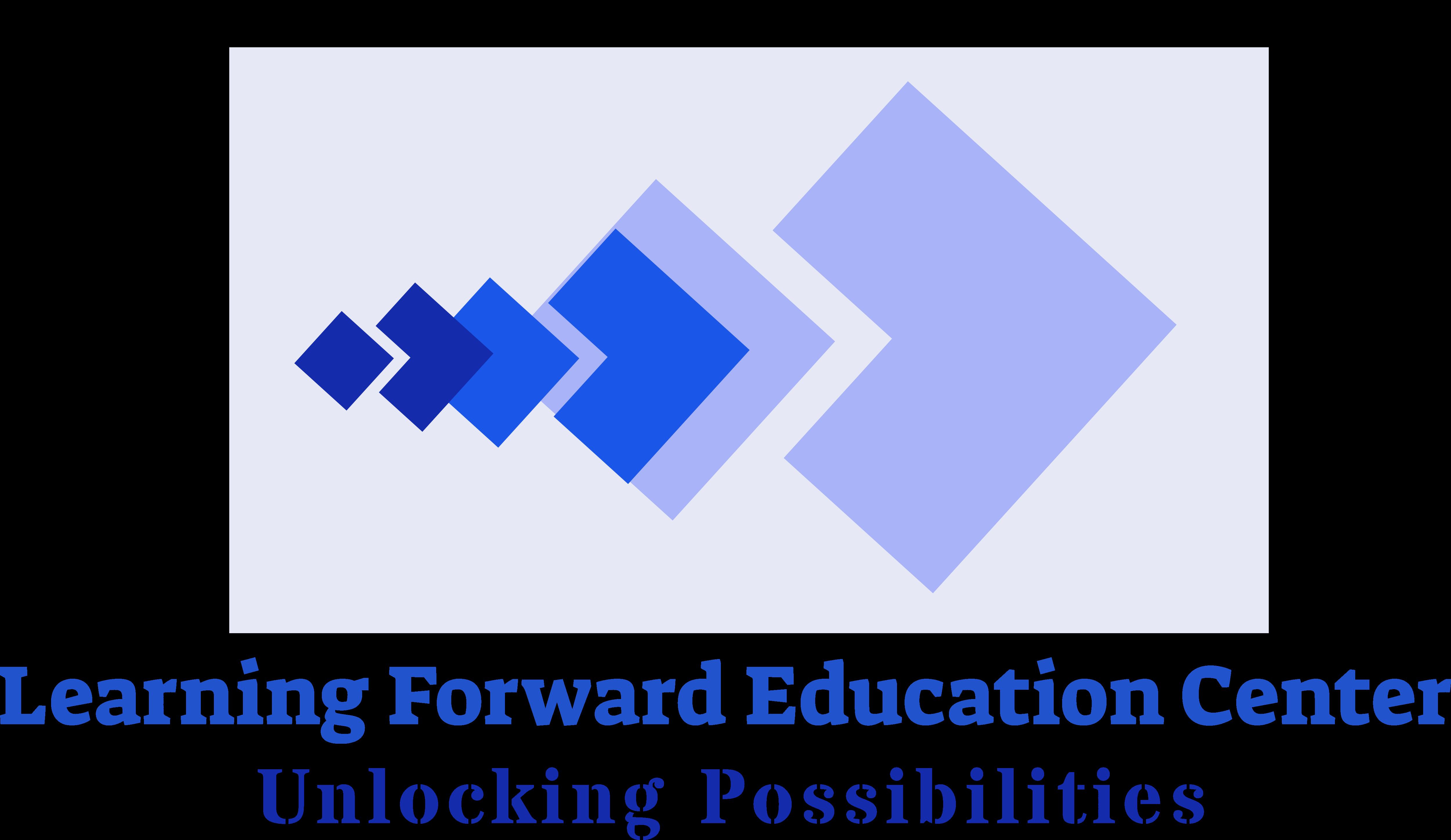 Learning Forward Education Center Logo Full