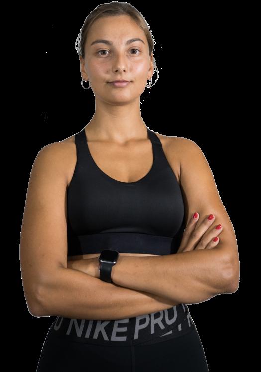 Miriam, entrenadora personal en Sono Fit