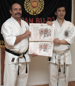Hanshi Bill Woodard is the President of the National Karate Kobudo Federation. He is a 9th Degree Black Belt in MotobuHa ShitoRyu and is known for bringing Okinawan Kobudo to the United States of America.