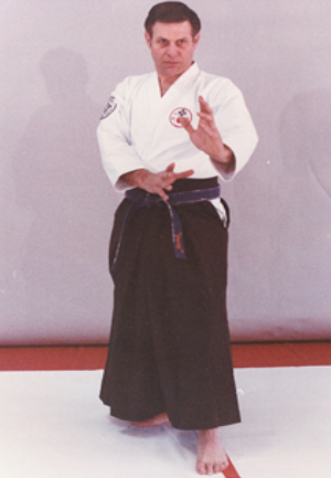 Aikido Sensei with NKKF