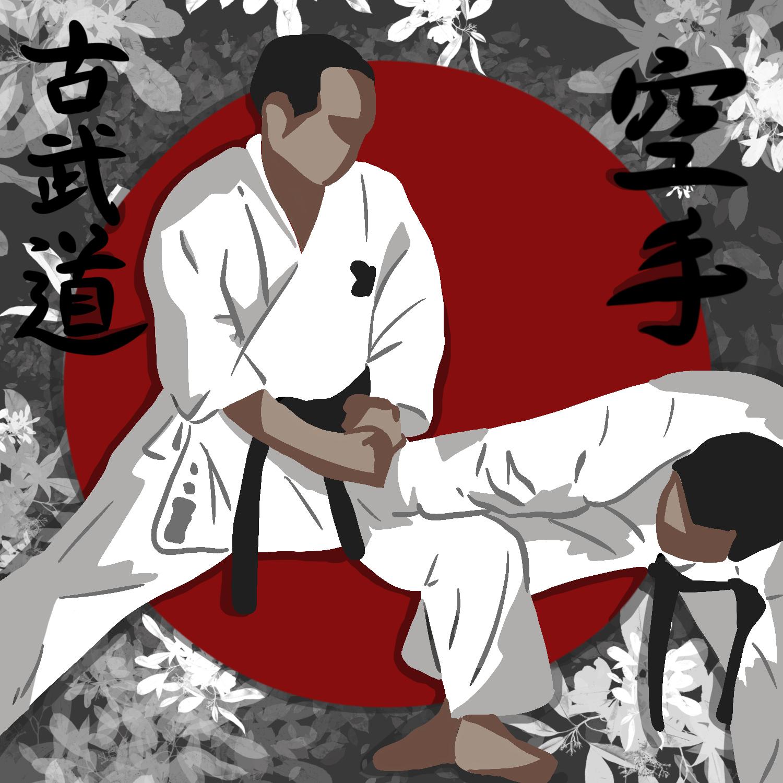National Karate Kobudo Federation Self Defense Karate Logo