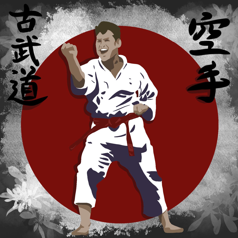 National Karate Kobudo Federation Kata Kiai Karate Colton Woodard Kyoshi 7 Dan Logo