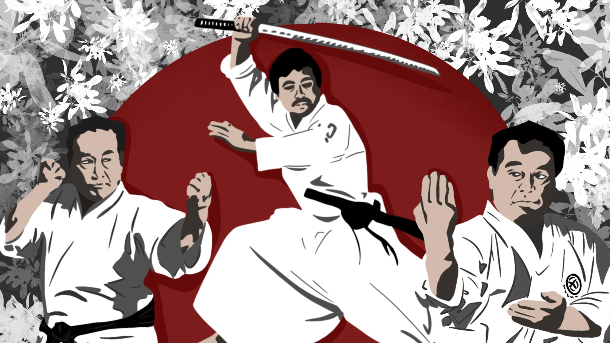 National Karate Kobudo Federation Sensei Collection Katana Iaido Sword Samurai Logo
