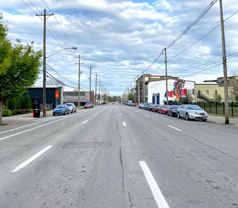 photo of empty main street