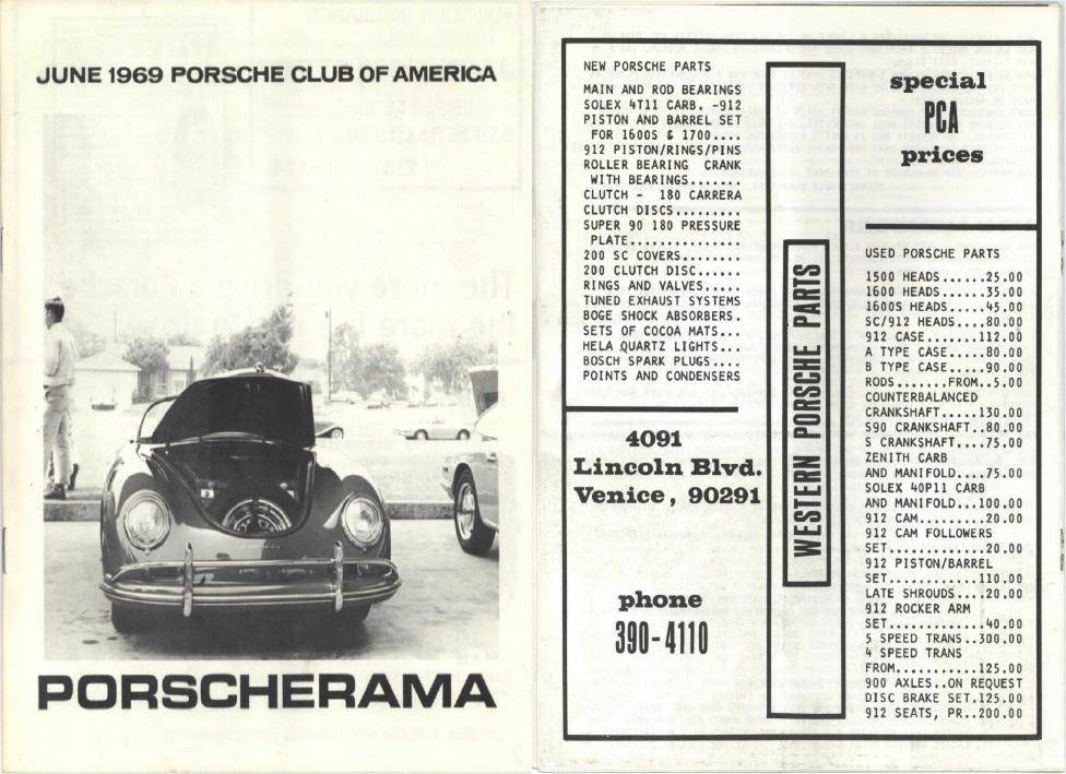 PCALA - Porscherama 1969 Pages
