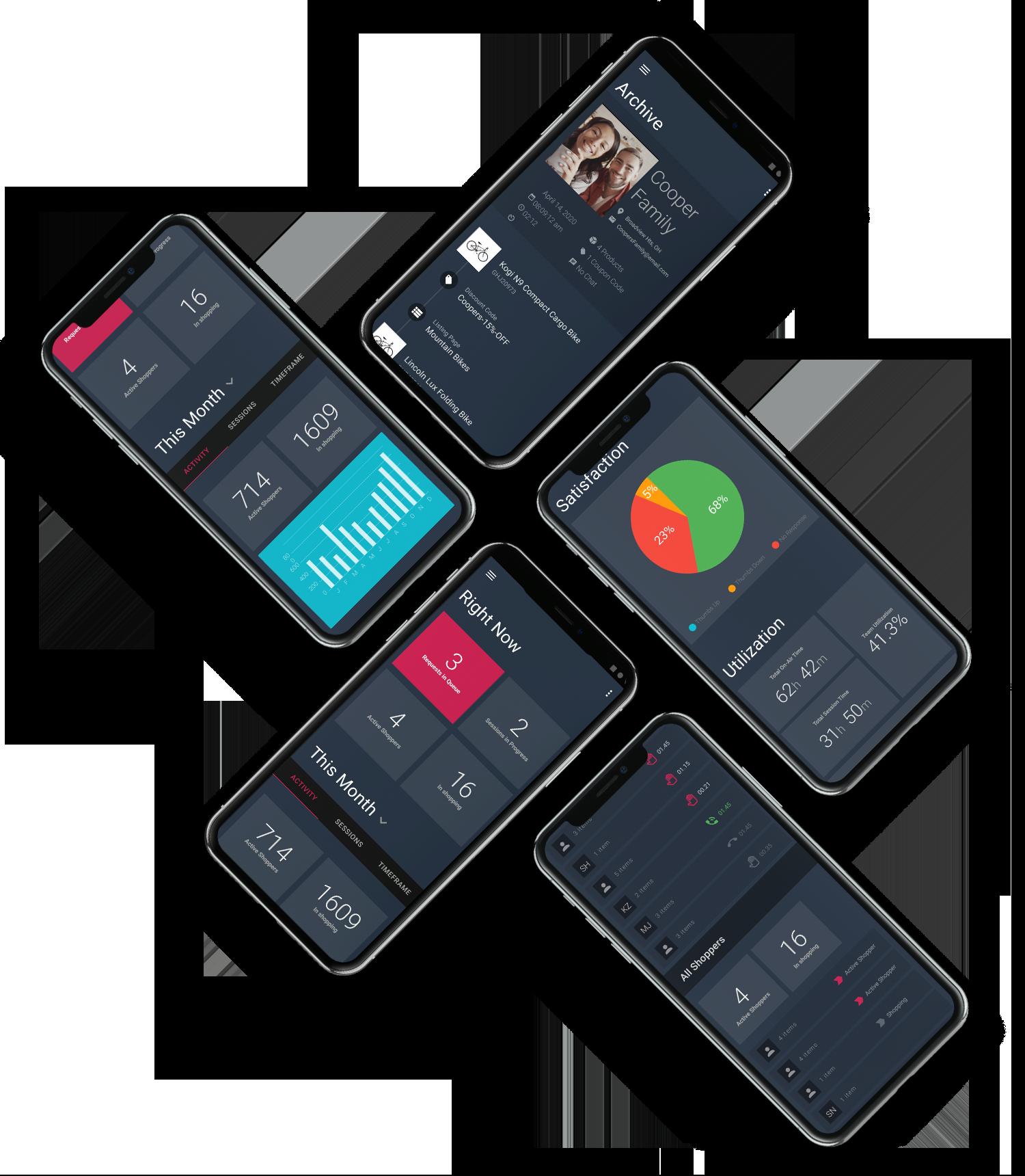 Uptok video chat customer insights data