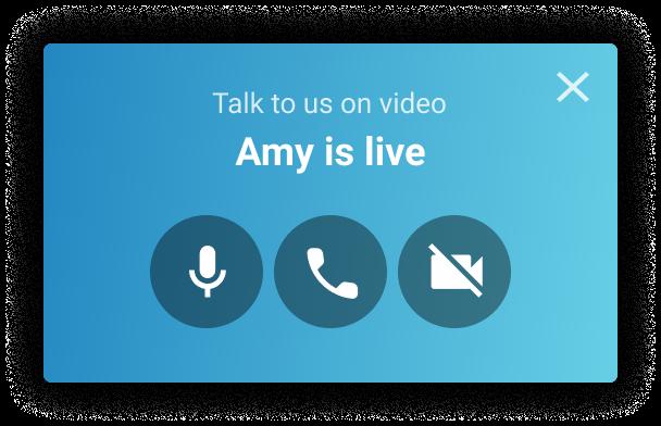 Uptok Video Widget - Proactive Streaming