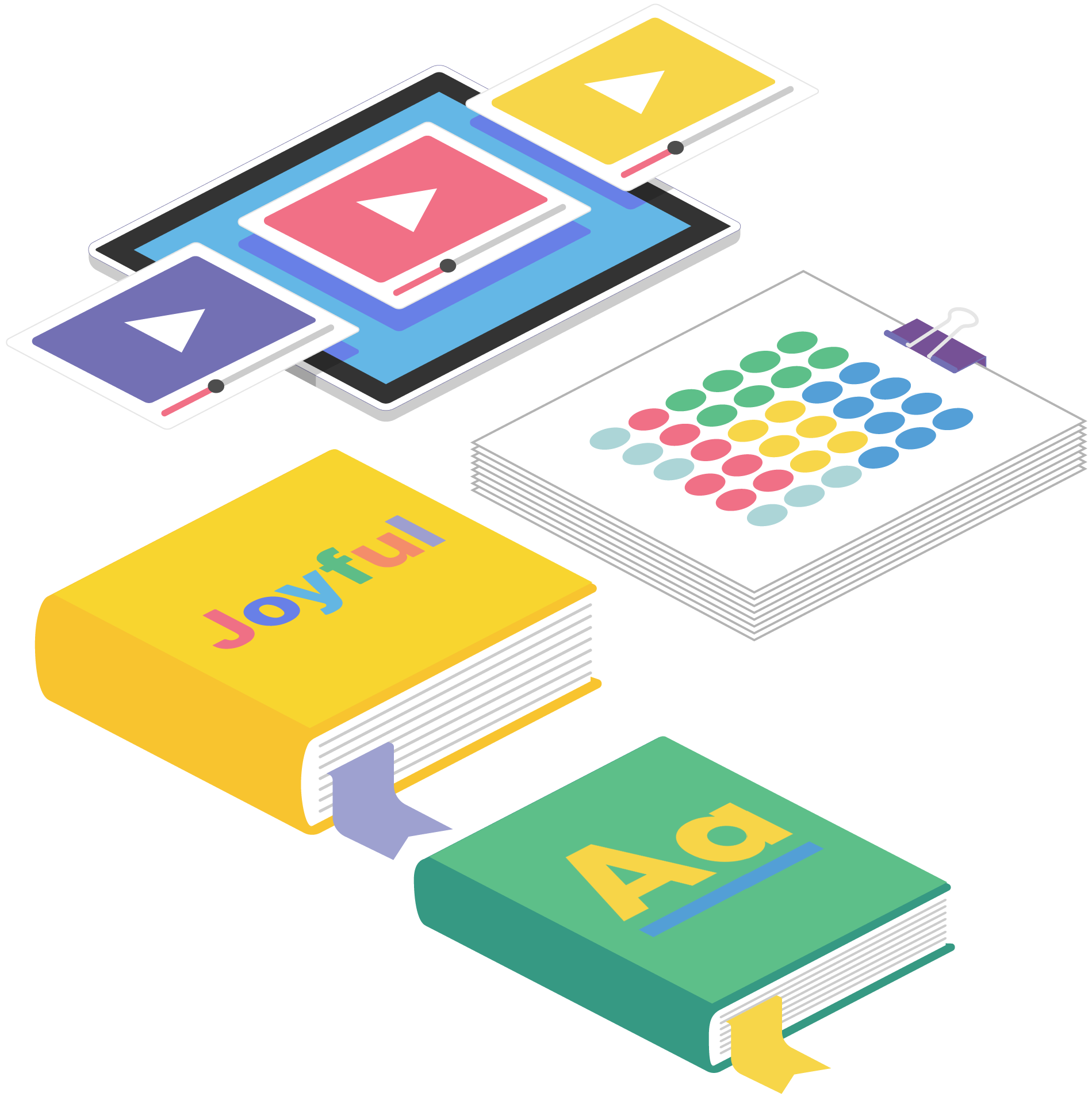 Zoom Educational Summit Online Learning Illustration