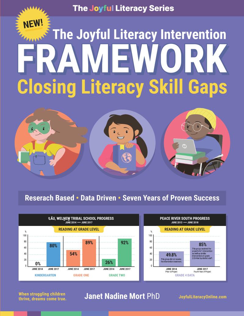 Joyful Literacy Intervention Framework Book Cover
