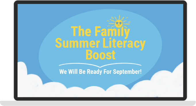 Title Design for The Family Summer Literacy Boost by Joyful Literacy