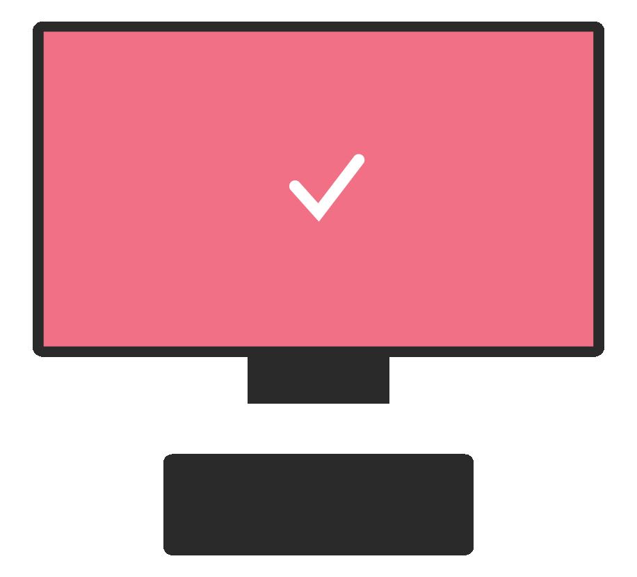 graphic of a desktop computer