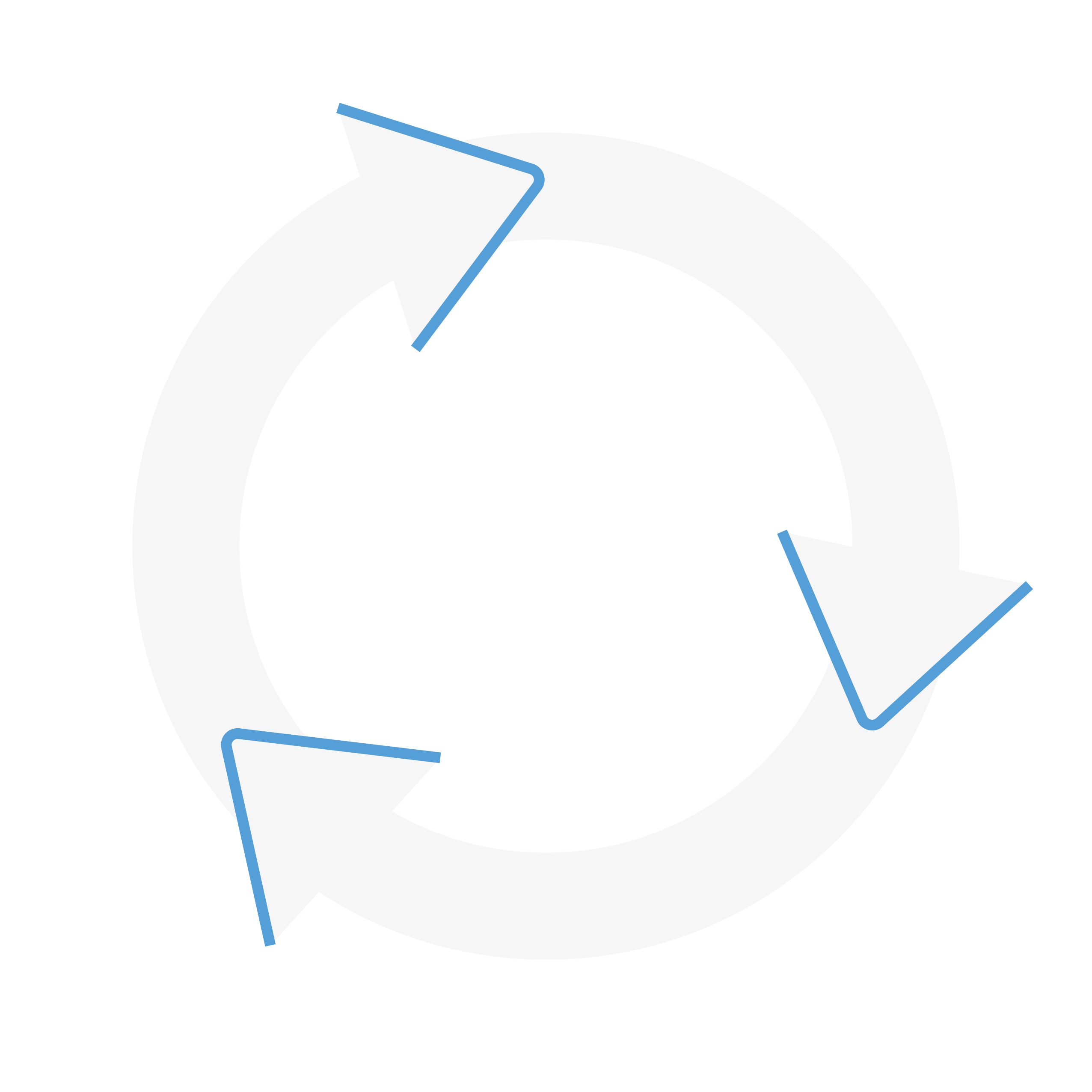 an illustration of a cycle of teaching, testing, and tracking