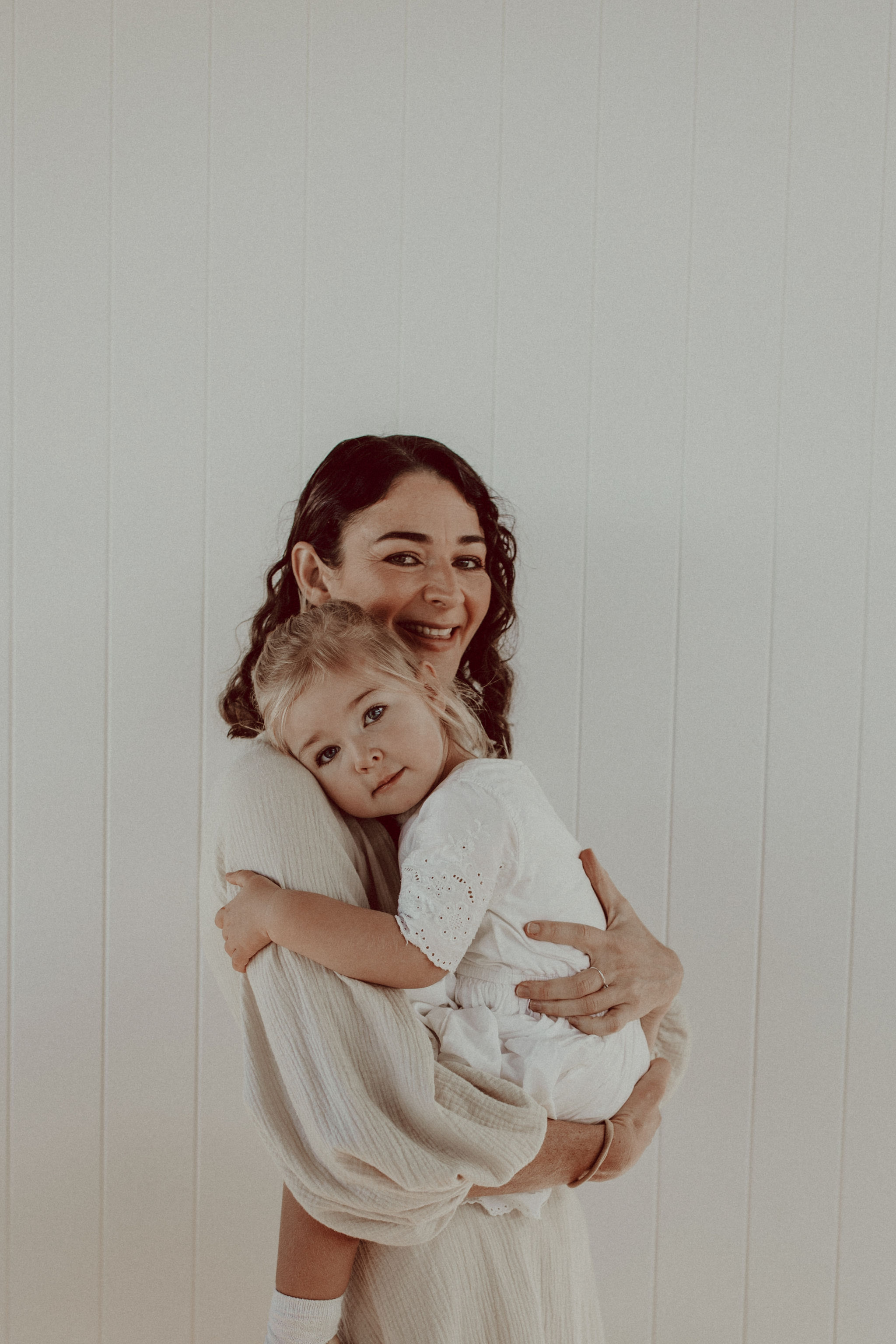 Eva Rose with her daughter