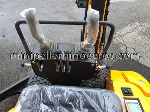 Handles of the Mini Excavator XN-16