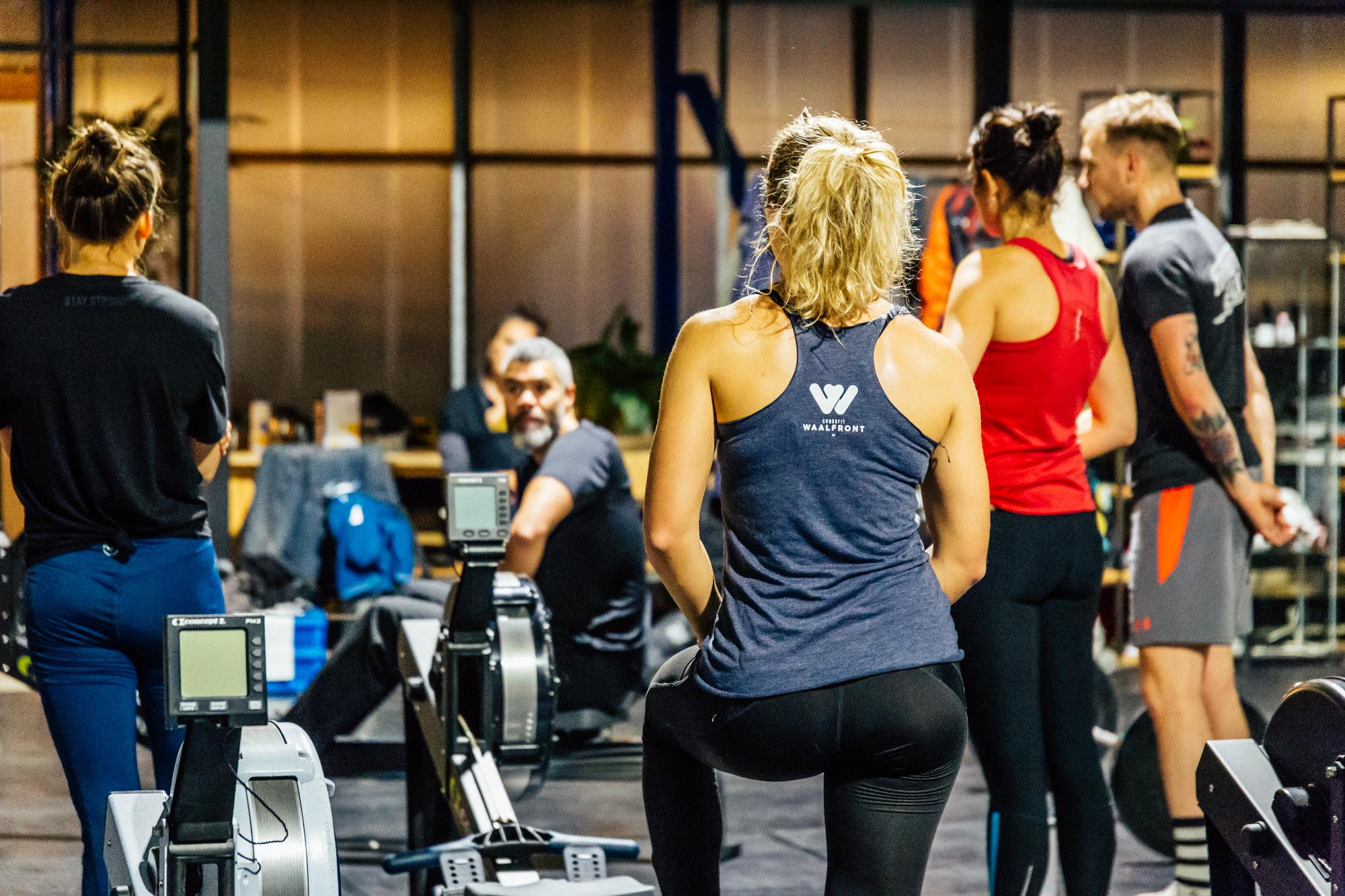 Crossfit Waalfront takes advantage of the Wattz class by RoBox Fitness