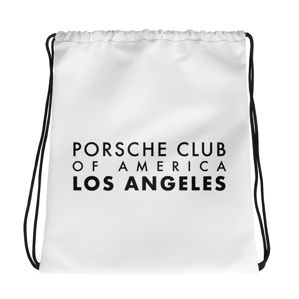 Porsche Club LA Drawstring Bag